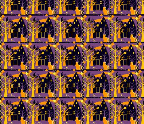 Halloween Fun fabric by eppiepeppercorn on Spoonflower - custom fabric