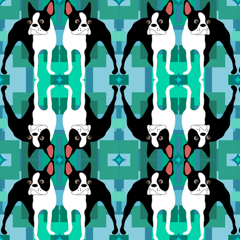 Retro Duke fabric by missyq on Spoonflower - custom fabric