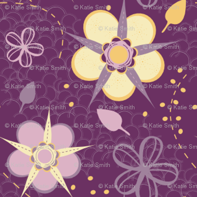 Pretty Moon Flowers