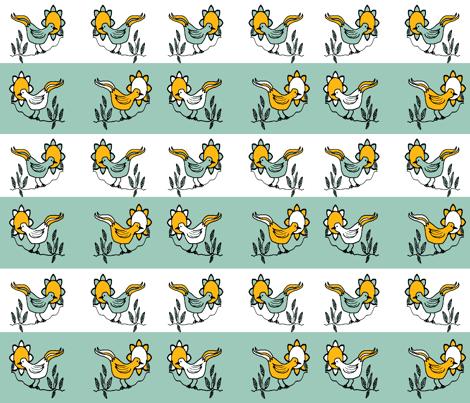 RestrictedBird5-ch-ch fabric by grannynan on Spoonflower - custom fabric