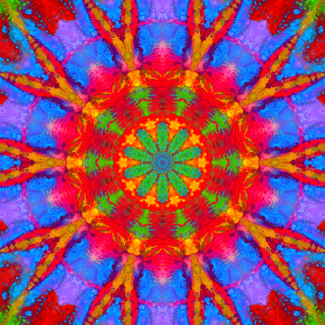 Chakra Dance 11 fabric by dovetail_designs on Spoonflower - custom fabric