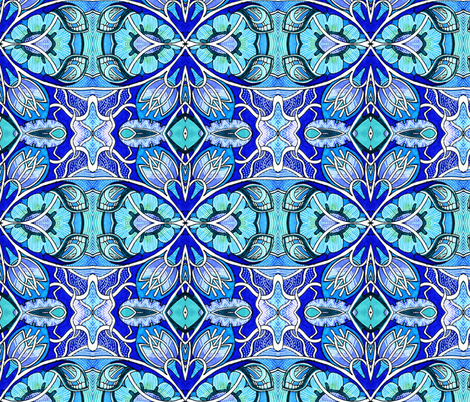 Electric Gardening fabric by edsel2084 on Spoonflower - custom fabric