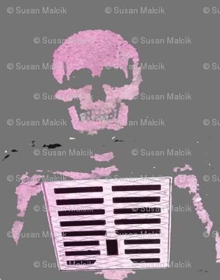 Skeleton Graffiti, Paris