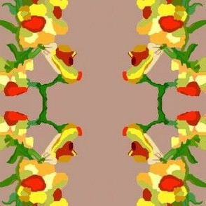 Color Block Snapdragons 2