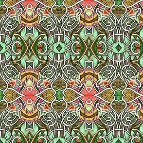 Gothic Tendrils (olive)