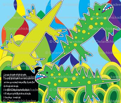 Groovy Iguana