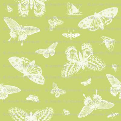 Celery Vintage Butterflies