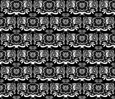 Flora Americana fabric by paula_ogier_artworks on Spoonflower - custom fabric