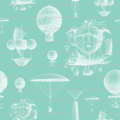 Mint Vintage Balloons