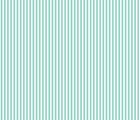 Mint Stripe fabric by sweetzoeshop on Spoonflower - custom fabric