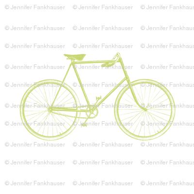 Celery Vintage Bicycle