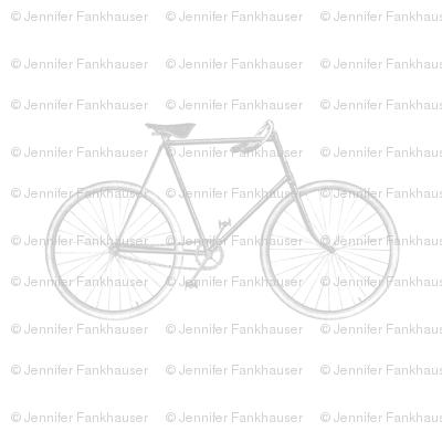 Gray Vintage Bicycle