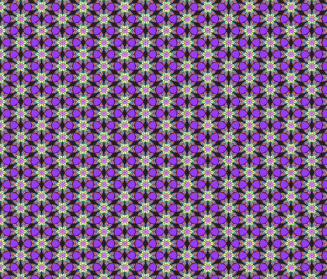 mathematical flowers fabric by zandloopster on Spoonflower - custom fabric