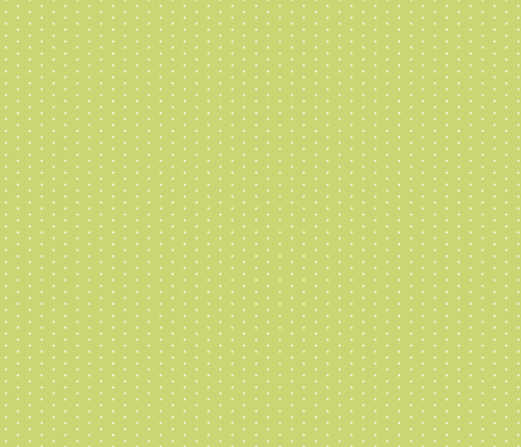 Celery Tiny Dot fabric by sweetzoeshop on Spoonflower - custom fabric