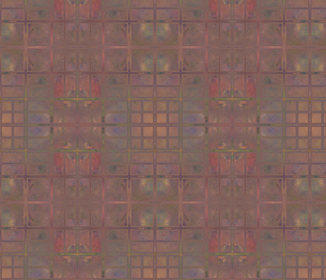 Cotoneaster in Autumn Abstract © Gingezel™ 2012 fabric by gingezel on Spoonflower - custom fabric