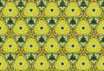 Peacock Kaleidoscope #11