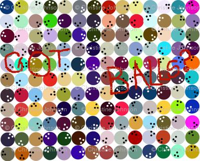 Got Balls? color chart