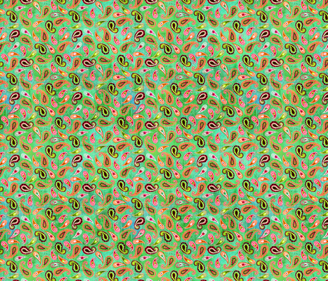 BHB-wmb_Little_Paisley_turq fabric by wendybentley on Spoonflower - custom fabric