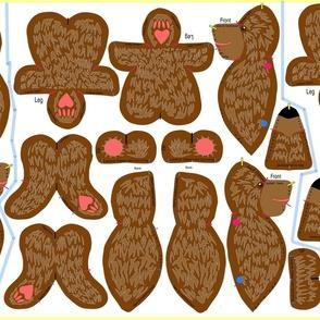 Tubby Teddy Bear 'Plushie'