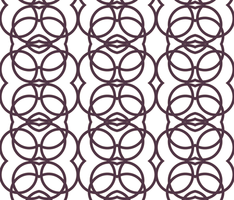 grape_circles fabric by holli_zollinger on Spoonflower - custom fabric