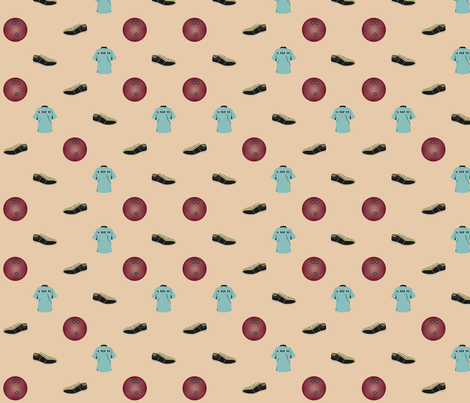 Bowling Too fabric by brandymiller on Spoonflower - custom fabric