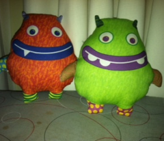 Idunno and Notmee Plushies