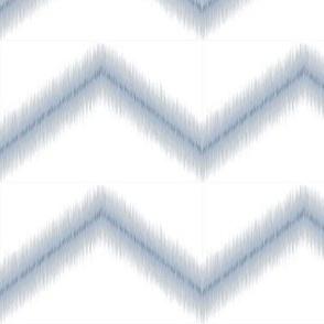 Ikat Zig Zag / Blue Grey