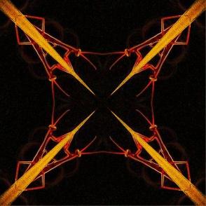 Praying Mantis Mandala 2