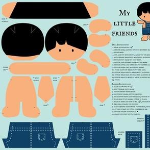 My Little Friends - Dress Up Doll