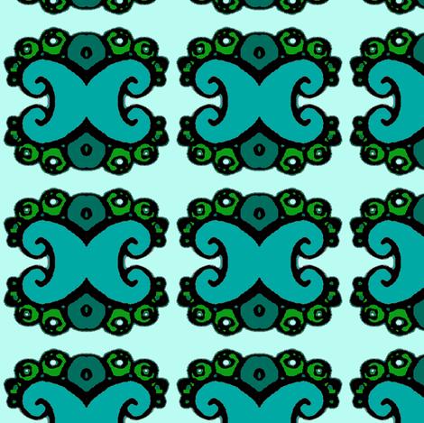 rococò one fabric by mimi&me on Spoonflower - custom fabric