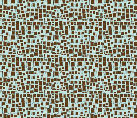 reworked_brown_blue_blocks fabric by gsonge on Spoonflower - custom fabric