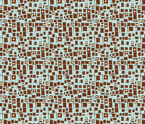 Blocks and Dots fabric by gsonge on Spoonflower - custom fabric