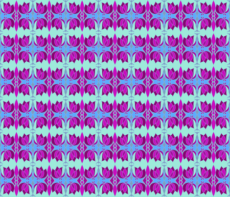 Rose Cloud fabric by paula_ogier_artworks on Spoonflower - custom fabric