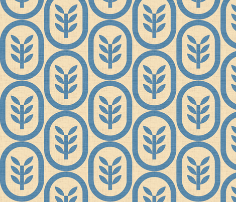 wheat copenhagen fabric by holli_zollinger on Spoonflower - custom fabric