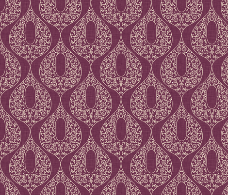 umbraline_merlot fabric by holli_zollinger on Spoonflower - custom fabric