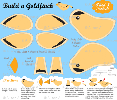 Build a Goldfinch
