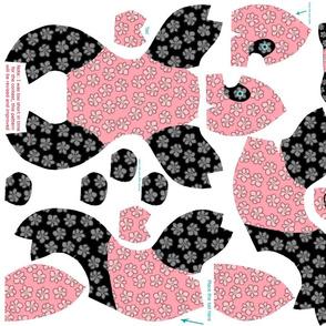 Baby panda plushie pattern
