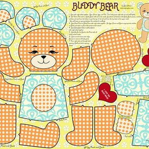 Buddy Bear Stuffed Friend