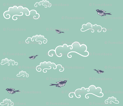 Into the Spoonflower Blue