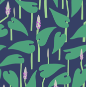 Lakeside - Water Hyacinths