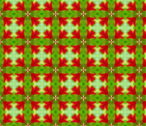 Nature's Plaid 1 fabric by dovetail_designs on Spoonflower - custom fabric