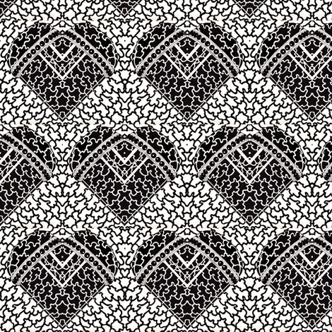 Love lace fabric by zandloopster on Spoonflower - custom fabric