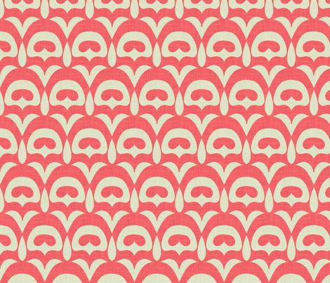 umbra_deco_coral fabric by holli_zollinger on Spoonflower - custom fabric