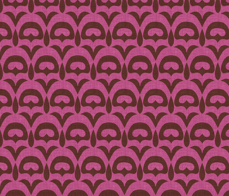 umbra_deco_pink fabric by holli_zollinger on Spoonflower - custom fabric