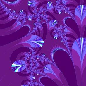 purple lavendar fractal-chg