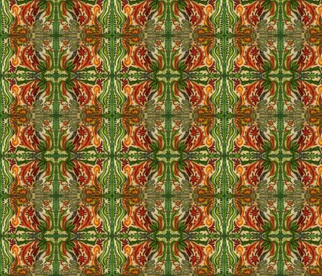 jungle pattern fabric by lizartseattle on Spoonflower - custom fabric