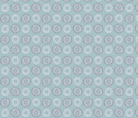 Blue Doughnuts fabric by siya on Spoonflower - custom fabric