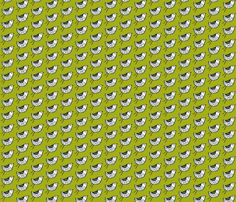 Birdie fabric by petchy on Spoonflower - custom fabric