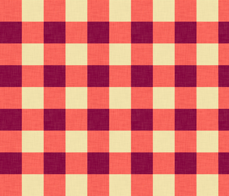 umbra_gingham fabric by holli_zollinger on Spoonflower - custom fabric