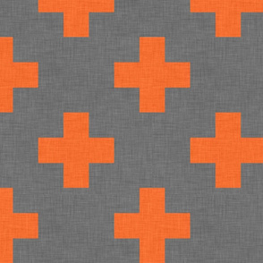 plus one linen orange